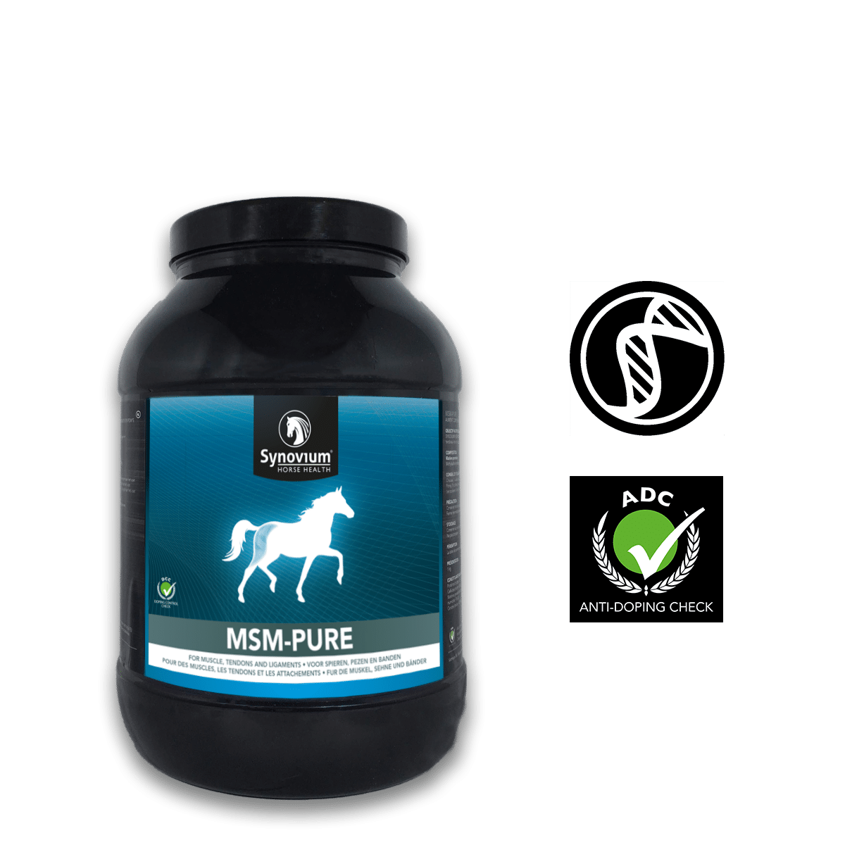 100% pure MSM horse supplement by Synovium