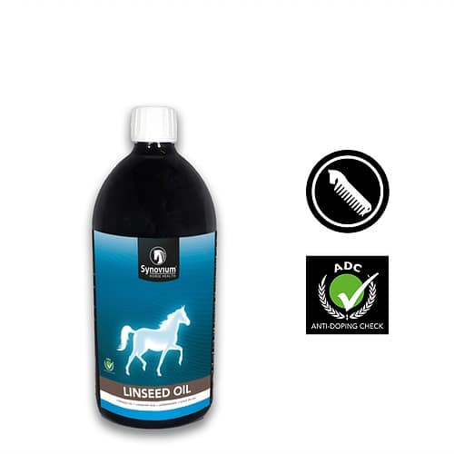 cold pressed linseed oil for horses Synovium equine supplements
