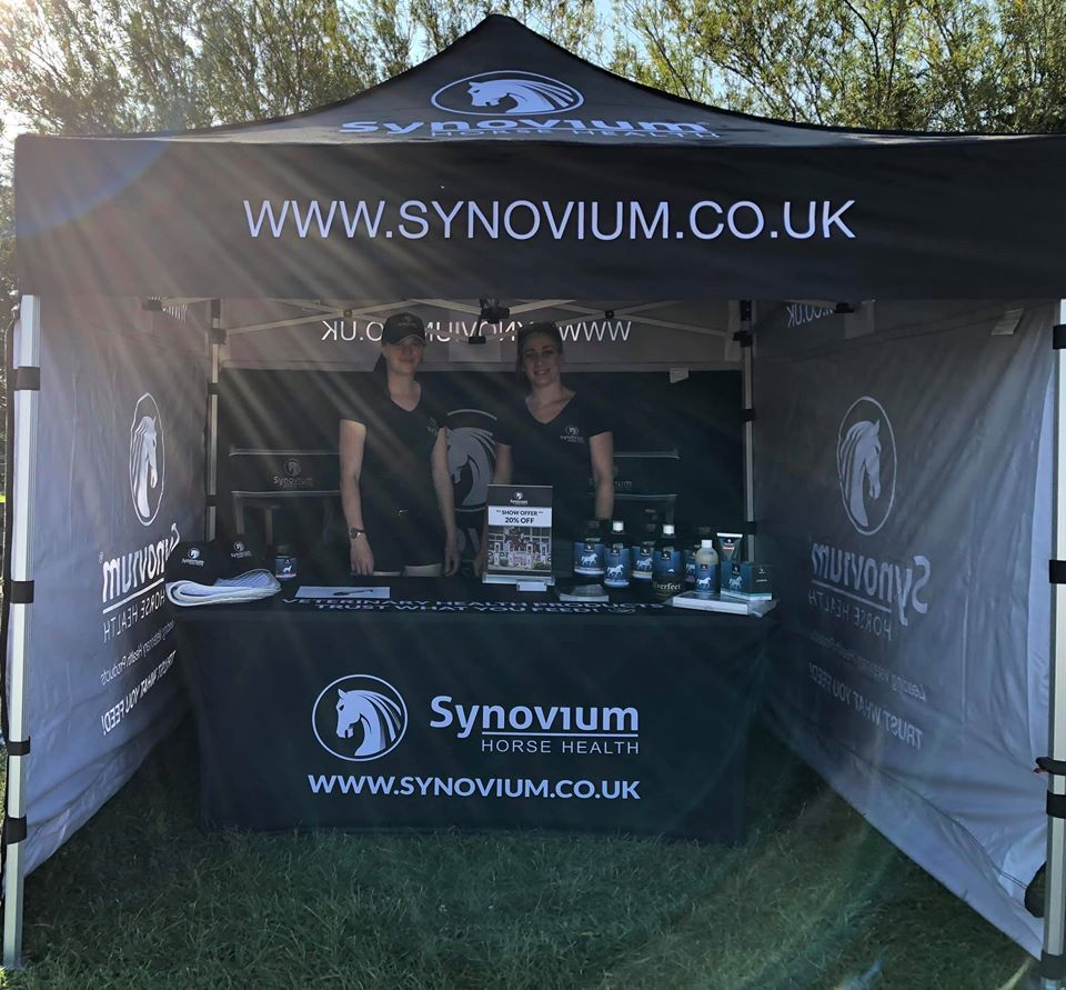 Synovium Horse Health Supplements Trade Stand