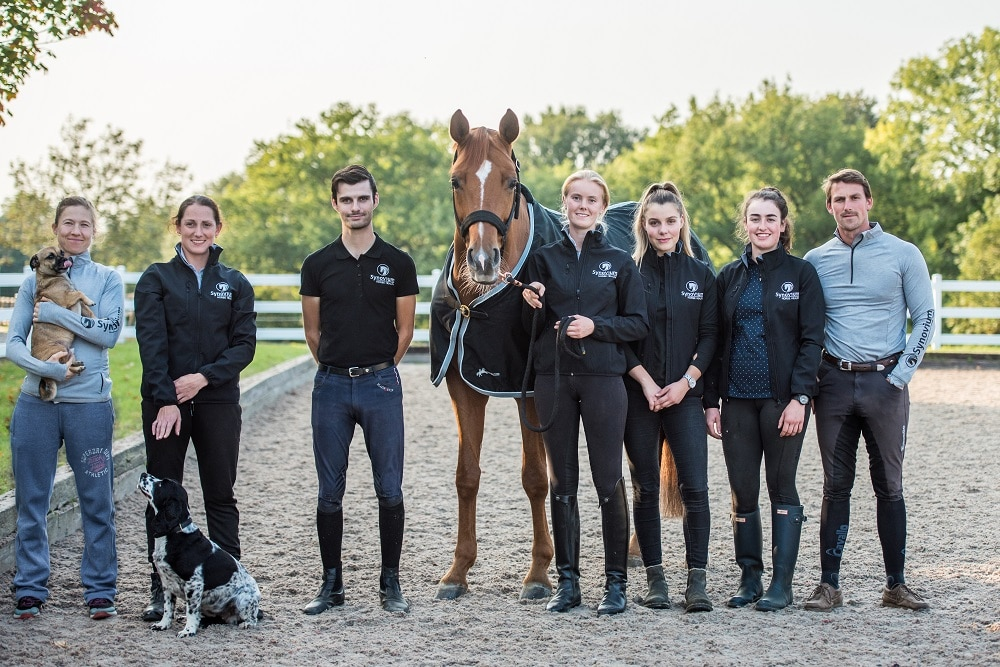 The Eilbergs sponsored by Synovium Horse Health